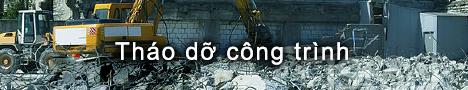 Tháo dỡ công trình