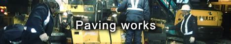Paving works